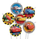 Trinkhalme Cars, 6 Stück