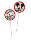 Trinkhalme Miciky Maus, Mickey Mouse 6 Stück