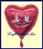 Alles Gute Zur Hochzeit, Luftballon aus Folie