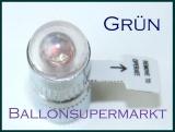 LED Ballon Blinker, grün, 10 Stück