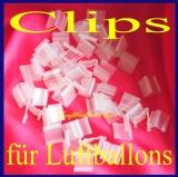 Ballon-Clips, Verschlüsse für Latex-Luftballons, 100 Stück