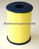 Ballonband 500 m Zitronen-Gelb