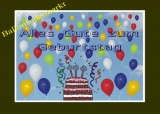 Ballonflugkarten Geburtstag, 30 Postkarten