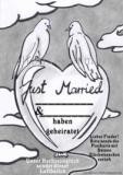 Ballonflugkarte Hochzeit, Just Married, Hochzeitstauben