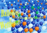 Ballonflugkarten zum Ballonflugwettbewerb, 30 Postkarten, Text in 3 Sprachen