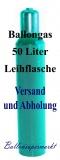 Ballongas 50 Liter, Helium 4.6, Leihflasche, Abholung