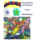 Mini-Luftballons 25 Stück, 12 cm