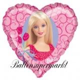 Barbie Luftballon, Barbie-Glamorous, 45 cm