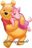 Luftballon, großer Puuh Bär, Winnie the Pooh, Big Pooh Hug, Shape