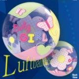 Bubble-Luftballon, Baby Girl, Geburt, Mädchen