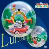 Bubble-Luftballon, Micky Maus, Park, mit Helium