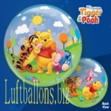 Bubble-Luftballon, Tigger and Winnie the Pooh, mit Helium