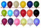 Luftballons, Farben Bunt gemischt, Größe 30 cm, 100 Stück