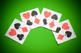 Casino Servietten, 10 Stück