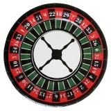 Casino Party- und Festdekoration, Teller, 10 Stück