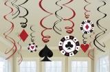 Casino Swirls, 12 Stück, Place your Beats
