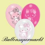 Luftballons mit Charmmy Kitty, 6 Stück, Ballons aus Latex
