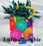 Ballongewicht, Geschenktüte, Ballons