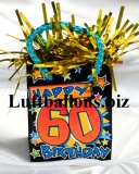 Geburtstag-Dekoration, Ballongewicht zum 60. Geburtstag