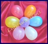Mini-Luftballons, Wasserbomben, Deko-Ballons, Bunt gemischt, 100 Stück