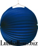 Party- und Festdekoration, Lampion, Blau