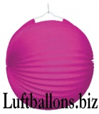 Party- und Festdekoration, Lampion, Pink