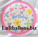 Geburtstag, Tischdekoration, Partyteller Cute Birthday, 8 Stück