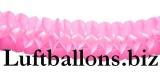 Girlande, Party- und Festdekoration, Seidenpapiergirlande, Rosa, 4 Meter