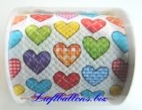 Designer Toilettenpapier, Colourful Hearts
