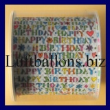 Designer Toilettenpapier, Geburtstag, Happy Birthday