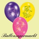 Luftballons mit Dinosauriern, 6 Stück, Ballons aus Latex