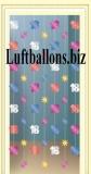 Geburtstag-Dekoration, Zahlendeko-Ketten, Portaldeko zum 18. Geburtstag