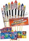 Feuerwerk Power Collection, Feuerwerksraketen-Sortiment