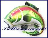 Regenbogenforelle, Deko-Luftballon aus Folie