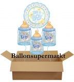 Luftballons zu Geburt und Taufe, It's a Boy, Set 01