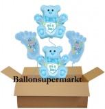Luftballons zu Geburt und Taufe, It's a Boy, Set 02