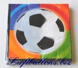 Servietten Fußball, Papierservietten, Tischdekoration