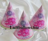 Partydekoration zum 1. Geburtstag, Partyhüte, Marienkäfer, 1st Birthday, 8 Stück