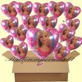 Barbie Luftballons mit Helium, Kindergeburtstag Geschenke, 18 Stück