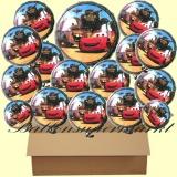 Cars Luftballons mit Helium, Kindergeburtstag Geschenke, 18 Stück