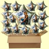 Hannah Montana Luftballons mit Helium, Kindergeburtstag Geschenke, 18 Stück