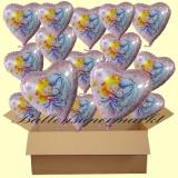 Sweet Little Princess mit Helium, Kindergeburtstag Geschenke, 18 Stück