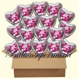 Micky Maus und Minni Maus holografische Luftballons mit Helium, Kindergeburtstag Geschenke, 18 Stück