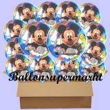 Micky Clubhouse Luftballons mit Helium, Kindergeburtstag Geschenke, 18 Stück