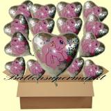 My Little Pony Luftballons mit Helium, Kindergeburtstag Geschenke, 18 Stück
