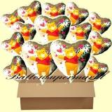 Pooh Holo Luftballons mit Helium, Kindergeburtstag Geschenke, 18 Stück