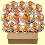 Pooh Flower Luftballons mit Helium, Kindergeburtstag Geschenke, 18 Stück