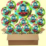 Thomas and Friends mit Helium, Kindergeburtstag Geschenke, 18 Stück