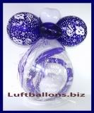 Geschenkeballon, Luftballon, Verpackungsballon zum 18. Geburtstag