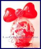 Geschenkballon Ich Liebe Dich, Geschenk der Liebe im Luftballon